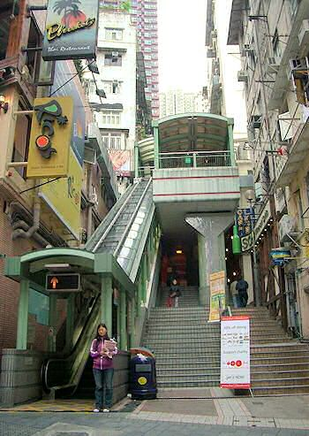 Escalators of HongKong
